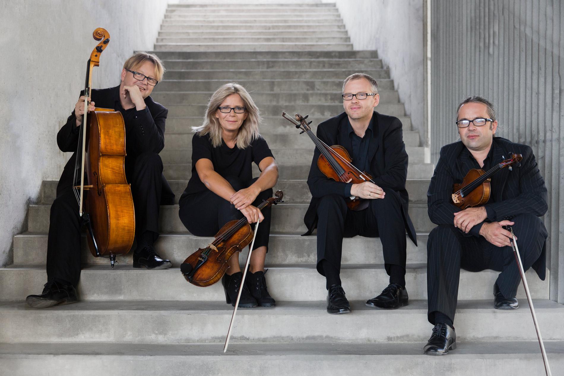 Altra Volta string quartet Jacek Dzwonowski Leszek Sojka Aleksandra Marko-Lech Michael Lech