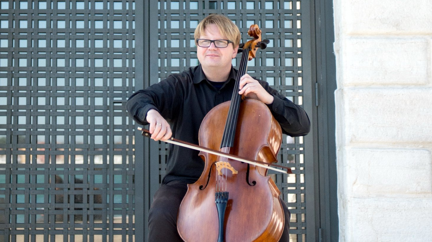 Michał Lech cello venice cellist